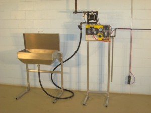 TTS Remote Pump Station - Pump & Funnel