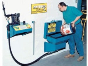 Myers Remote Pumping Station- Pump & Funnel